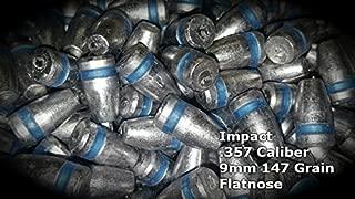 SHTFandGO Impact 100 Qty 9mm/357/45/50 Caliber Air Rifle Bullets Pellets