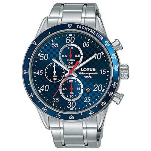 Lorus Orologio Cronografo Quarzo Uomo con Cinturino in Acciaio Inox RM329EX9