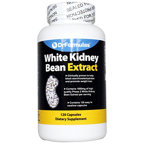 1000mg White Kidney Bean Extract Carb/starch Blocker (120 Capsules)