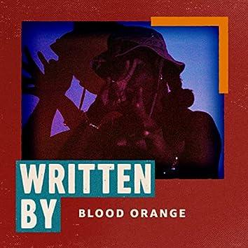 Written by Blood Orange