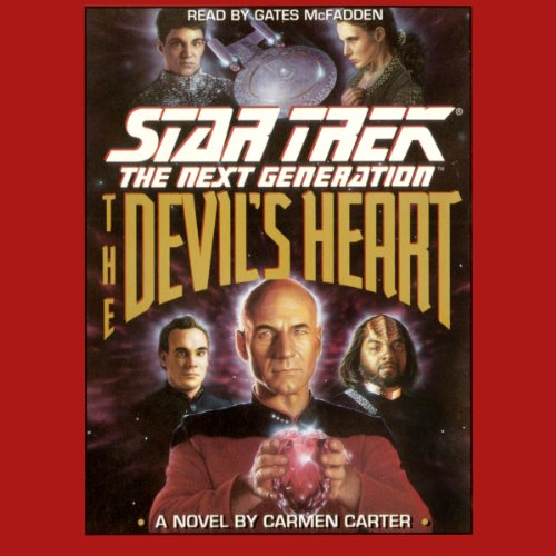 Star Trek, The Next Generation: The Devil's Heart (Adapted) audiobook cover art