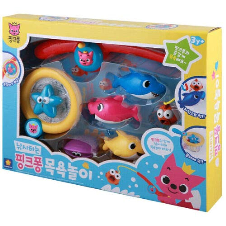 Wonderkid Pinkfong Fishing Pinkfong バスプレイトイ [並行輸入品]