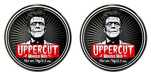 Uppercut Monster Hold Pomade - 2.8 oz jars (Pack of 2) by Uppercut