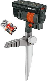 Gardena 38124 ZoomMaxx - Aspersor oscilante en estaca de Met