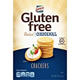 Lance Gluten Free Baked Crackers, Original, 5 Ounce Box, Pack of 12