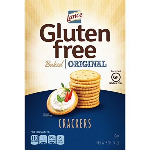 Lance Gluten Free Crackers, Original Baked, 5 Ounce Box
