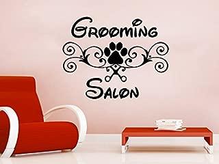 Wall Decal Vinyl Sticker Decals Petshop Grooming Salon Dog Animals Home Decor Art Design Interior C146