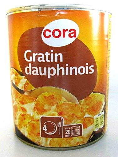 Cora Kartoffel Gratin Auflauf Dauphin Dauphinois aus Frankreich, 850 g. Dose