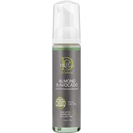 Design Essentials Curl Enhancing Mousse, Almond and Avocado Collection, 2.3 Ounces