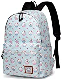 Backpack for Girls, Vaschy Fashion Floral 15 inch School Backpack for Girls Laptop