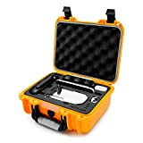 MAXCAM Waterproof Hard Case Compatible with DJI Mavic Mini Drone + Remote Controller + Base Accessories (Drone and Accessories NOT Included) - Orange