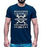 Mog Print Camiseta de mecánico experto regalo para técnico reparador ingeniero día del padre – divertido regalo de cumpleaños para papá