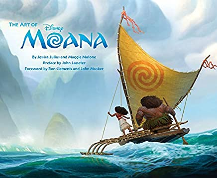 The Art of Moana by Jessica Julius Maggie Malone(2016-11-15)