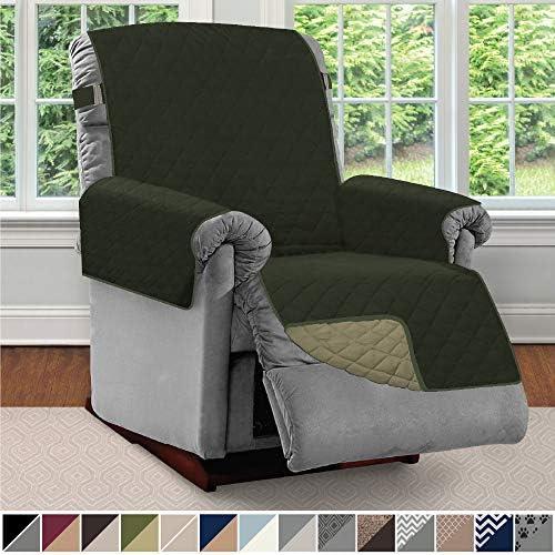 Best Sofa Shield Original Patent Pending Reversible Large Recliner Protector, Seat Width to 28 Inch, Furn
