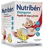 Nutriben Papilla Desayuno Copos de trigo y Frutas 750 gr