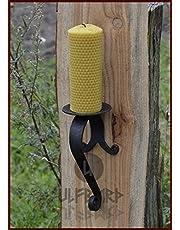 Ulfberth Gesmede wandlamp van staal - kandelaar - kandelaar - kandelaar - kandelaar