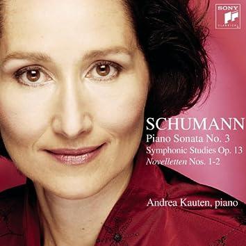 Schumann: Symphonic Studies/Piano Sonata No. 3