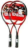 WILSON Roger Federer 25 BR x 2 Tennisschläger für Kinder