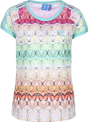 adidas Borbo Fresh té Camiseta, Primavera/Verano, Mujer, Color Multifarbe/Multco, tamaño 40