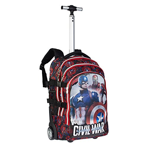 Karactermania 52828 - Marvel 2015 Civil War Trolley Zaino