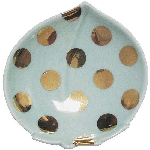 amabro MAME アマブロ マメ 水玉桃型皿
