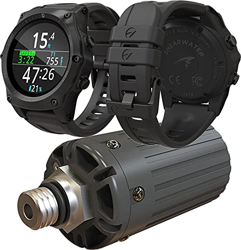 Shearwater Teric Wrist Computer with Transmitter - Black
