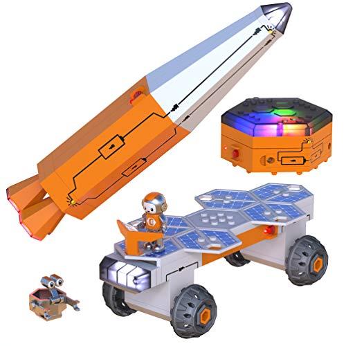 Educational Insights Circuit Explorer Rocket Ship Space Toy, Building Set, STEM Toys, Ages 6+