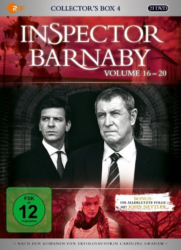 Inspector Barnaby - Collector's Box 4, Vol. 16-20 (21 Discs)