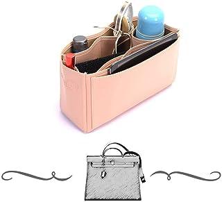 9d9097b2d4 Herbag 31 Deluxe Leather Handbag Organizer, Leather bag insert for Hermes  Herbag 31, Express