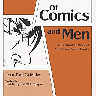 Of Comics and Men audiobook cover art