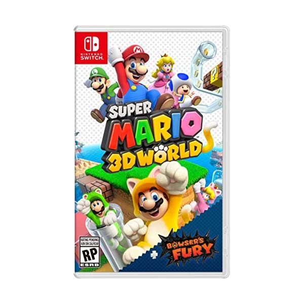 Super Mario 3D World + Bowser's Fury – Nintendo Switch