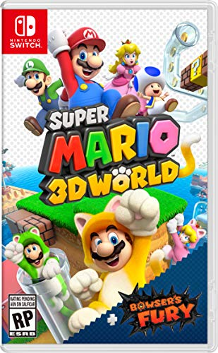 Super Mario 3D World + Bowser's Fury - Nintendo Switch - Standard Edition