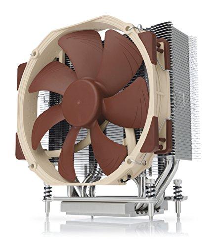 Noctua NH-U14S TR4-SP3, Premium CPU Kühler für AMD sTRX4/TR4/SP3 (140mm, Braun)