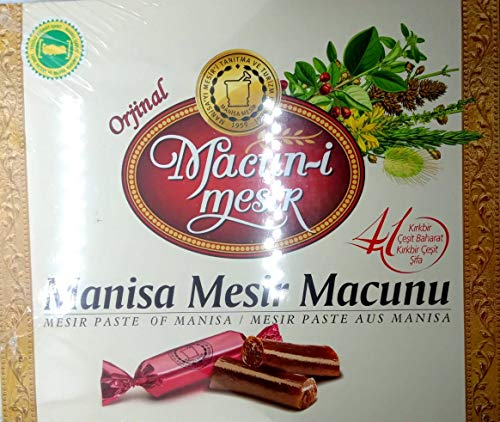 Ottoman Mesir Paste, Traditional Turkish Mesir Macunu with Natural 41 Herbals and Spices