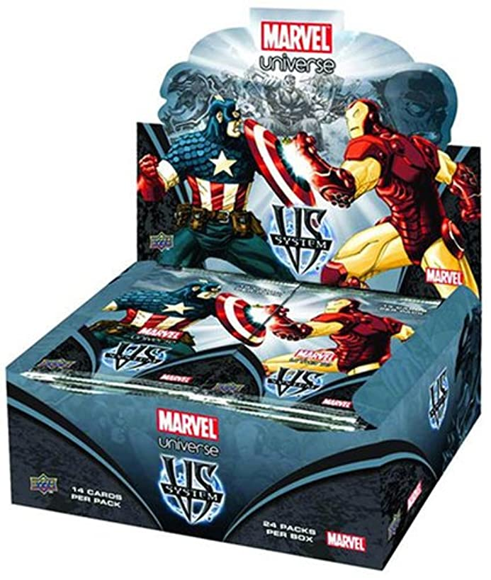 Marvel VS System Trading Card Game Marvel Universe Booster Box 24 Packs