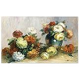 JUNIWORDS Poster, Pierre Auguste Renoir, Blumengebinde,