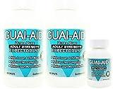 824 Guai-Aid® 600mg Guaifenesin Expectorant Caplets (Oval & Scored) - 2 Bottles of 400 & Travel Bottle
