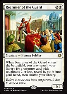 Magic: the Gathering - Recruiter of the Guard (022/221) - Conspiracy 2: Take the Crown