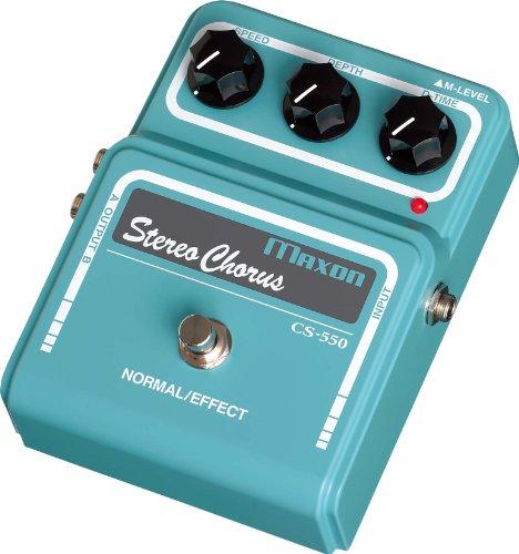 Maxon CS-550 Stereo Chorus · Guitar Effects
