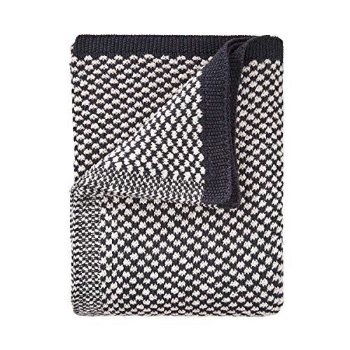 Butlers Soft Needle Decke Punktstrick 200x150cm