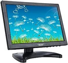 Eyoyo 10 Inch IPS LCD Monitor 1280x800 Resolution Support HDMI VGA BNC AV Input for PC TV Security Display(10 inch)