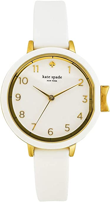 Kate Spade Women's KSW1441 Analog Quartz White Watch