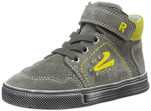 Richter Kinderschuhe Jungen Ola (Blinki) High-Top, Grau (Rock/Pineapple), 32 EU
