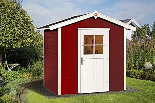 Weka Gartenhaus Schwedenrot 223 Größe 1 mit...