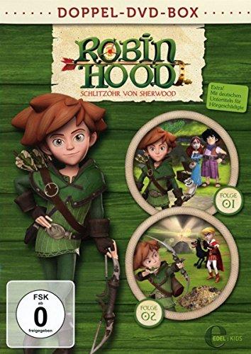 Robin Hood: Schlitzohr von Sherwood - Doppel-Box [2 DVDs]
