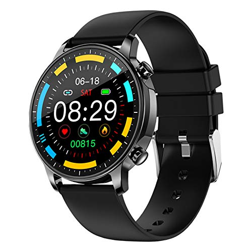 LWP V23 Pro Bluetooth Smart Watch IP67 Impermeable Impermeable Toque Fitness Fitness Fitness Presión Arterial Mujer Smartwatch para iOS Android,A
