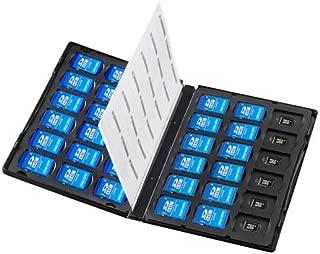 サンワサプライ アウトレット メモリーカード管理ケース(DVDトールケース型、SDカード、microSDカード用) FC-MMC25SDM 箱にキズ、汚れのあるアウトレット品です。