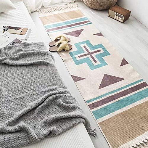 Zzxx Tapijt geometrische vloermat slaapkamer tapijt decoratief plafond tapijt