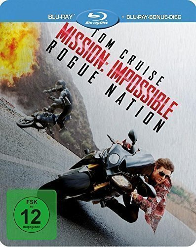Mission: Impossible - Rogue Nation - Steelbook (+ Blu-ray Bonus Disc) [Blu-ray] [Limited Edition]