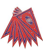 Generic 8Pcs/Set Ramadan Flag Islamic Bunting Flags Eid Mubarak Party Decorations Banner